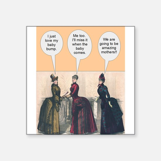 Victorian Baby Bumps - Funny Sticker