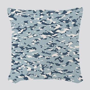 Camouflage: Arctic Tundra II Woven Throw Pillow