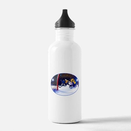Ice Hockey Battle Thro Water Bottle