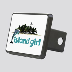 Island Girl With Dolphin Hitch Cover