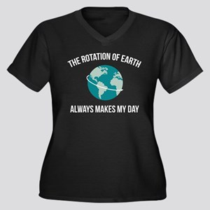 The Rotation of Earth Plus Size T-Shirt