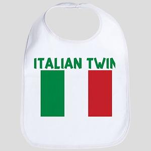 ITALIAN TWIN Bib