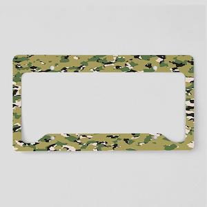Camouflage: Woodland IV (NWU License Plate Holder