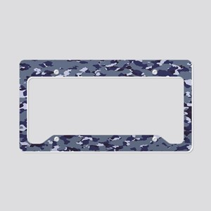 Camouflage: Naval (NWU I Colo License Plate Holder