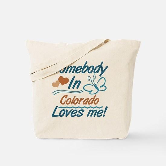 Cute Colorado loves me Tote Bag