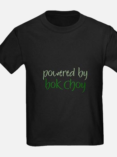 Powered By bok choy Ash Grey T-Shirt