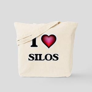 I Love Silos Tote Bag