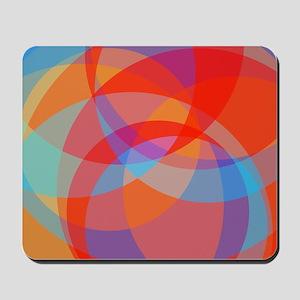 Original Circles Design Mousepad