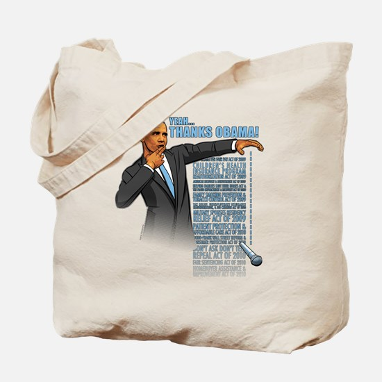 Cute Barak obama Tote Bag