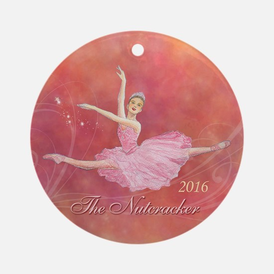 2016 Nutcracker Ballet Round Ornament