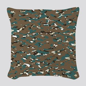 Camouflage: Arctic Tundra III Woven Throw Pillow