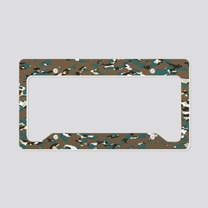 Camouflage: Arctic Tundra III License Plate Holder