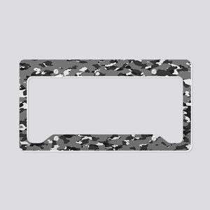 Camouflage: Urban II License Plate Holder