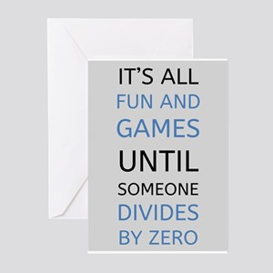Funny Math Greeting Cards Cafepress
