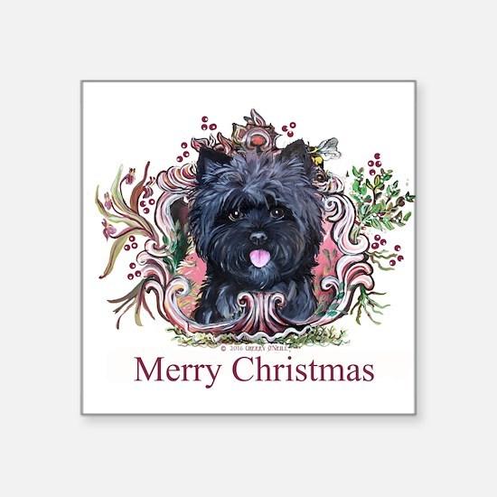 Merry Cairn Christmas Sticker