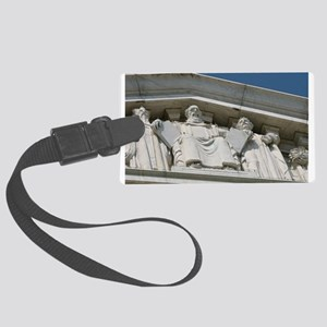 Moses the Lawgiver Large Luggage Tag