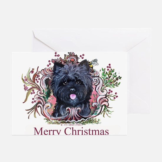 Merry Cairn Christmas Greeting Cards