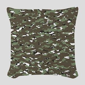 Camouflage: Alpine III Woven Throw Pillow