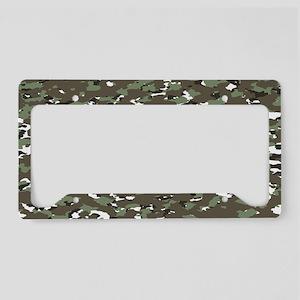 Camouflage: Alpine III License Plate Holder