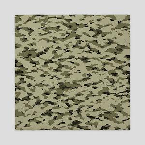 Camouflage: Arid Desert V Queen Duvet