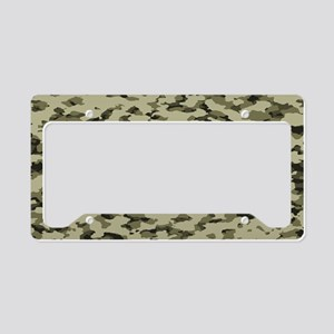 Camouflage: Arid Desert V License Plate Holder