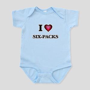 I Love Six-Packs Body Suit