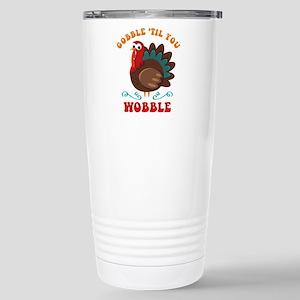 Gobble Wobble Turkey Stainless Steel Travel Mug