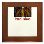 lord siva Framed Tile