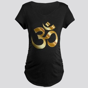 Om Symbol Maternity T-Shirt