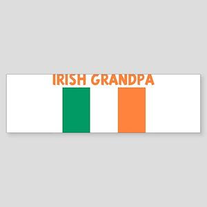 IRISH GRANDPA Bumper Sticker