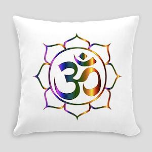 Om Symbol Everyday Pillow