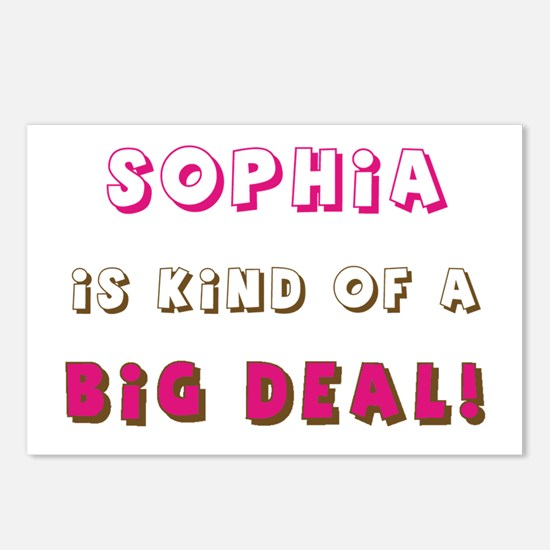 Sophia Is Kind of a Big Deal Postcards (Package of