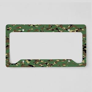 Camouflage: Woodland III (BDU License Plate Holder