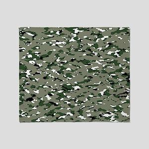 Camouflage: Alpine IV Throw Blanket