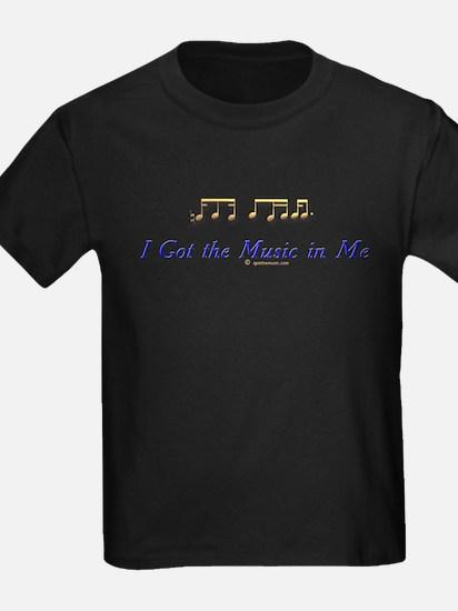 IGTMinMe_gold_onwhite T-Shirt