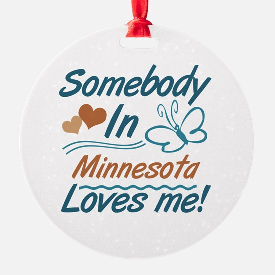 Cute Minnesota Ornament