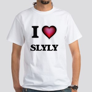 I love Slyly T-Shirt