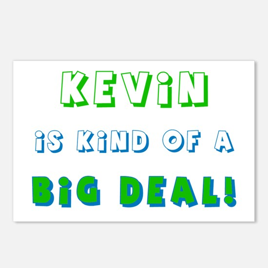 Kevin Is Kind of a Big Deal  Postcards (Package of