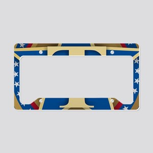 T for Trump License Plate Holder