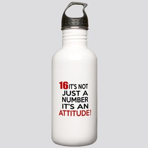 16 It Is Not Just a Nu Stainless Water Bottle 1.0L
