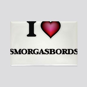 I love Smorgasbords Magnets