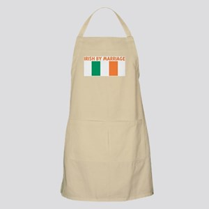 IRISH BY MARRIAGE BBQ Apron