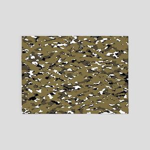 Camouflage: Arid Desert VII 5'x7'Area Rug