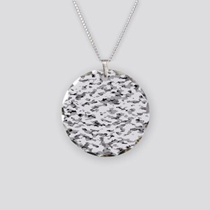 Camouflage: Alpine VI Necklace Circle Charm