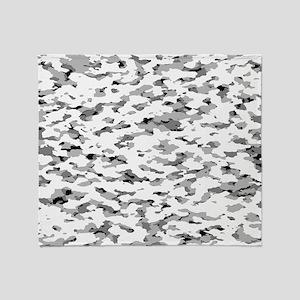 Camouflage: Alpine VI Throw Blanket