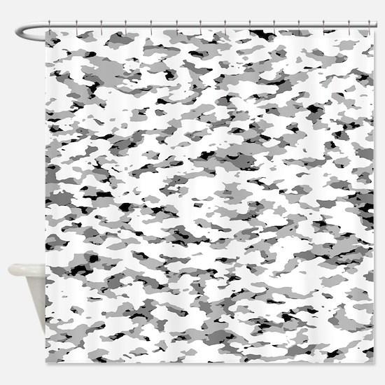 Camouflage: Alpine VI Shower Curtain