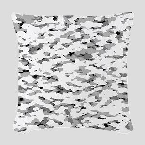 Camouflage: Alpine VI Woven Throw Pillow