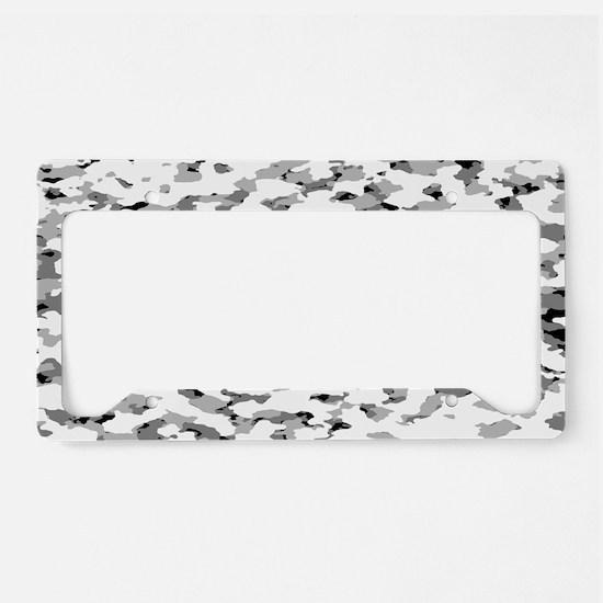 Camouflage: Alpine VI License Plate Holder