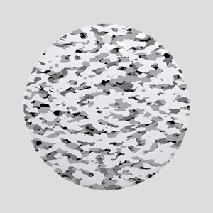 Camouflage: Alpine VI Round Ornament