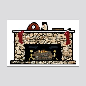Fireplace Mp Posters Mini Poster Print